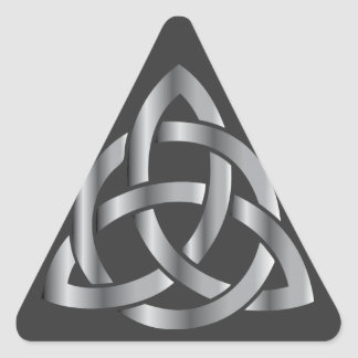 Celtic Knot Triangle Sticker