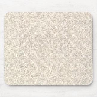 Celtic Knot Vanilla Pattern Mouse Pad