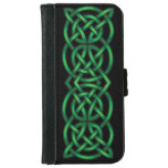 Celtic Knot Wallet Phone Case For iPhone 6/6s