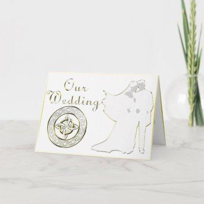 Celtic Knot Wedding Invitation Set Cards by pentagramstar