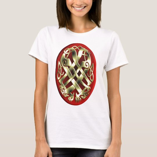 CELTIC KNOT WORK 1 OVAL T-Shirt