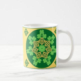 Celtic Knots and Shamrocks Mug