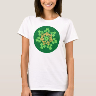 Celtic Knots and Shamrocks T-shirt