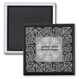 Celtic Knots Design Photo Magnet