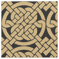Celtic Knots Pattern Fabric