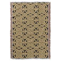 Celtic Knots Pattern Throw