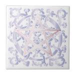 Celtic Knots & Pentacle - Trivet/Tile - 2 Tile