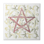 Celtic Knots & Pentacle - Trivet/Tile - 3