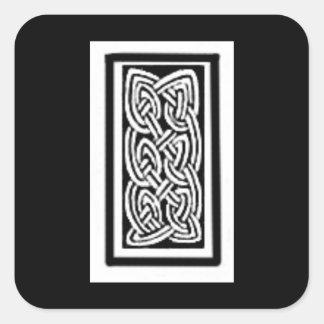 Celtic knots square sticker