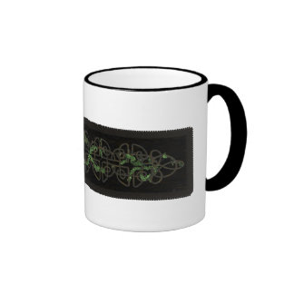 Celtic Knots with Ivy Ringer Coffee Mug