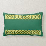 Celtic Knotwork Band Lumbar Pillow