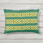 Celtic Knotwork Band Outdoor Pillow