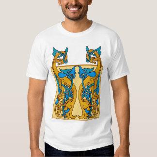 Celtic Knotwork Beasts Tshirt