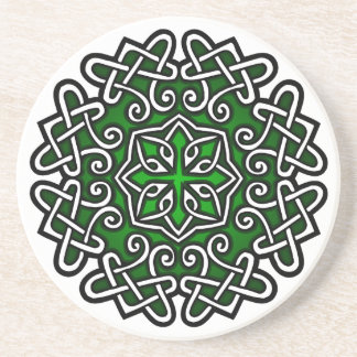 Celtic Knotwork Beverage Coaster