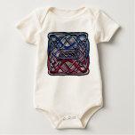 Celtic Knotwork Bisexual Flag Baby Bodysuit