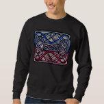 Celtic Knotwork Bisexual Flag Sweatshirt