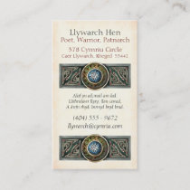 Celtic Knotwork Business Cards