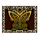 Celtic Knotwork Butterfly Postcard