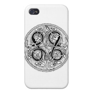Celtic knotwork cover for iPhone 4
