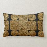 Celtic Knotwork Cross Lumbar Pillow