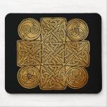 Celtic Knotwork Cross Mouse Pad
