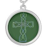 Celtic Knotwork Cross,  Necklace