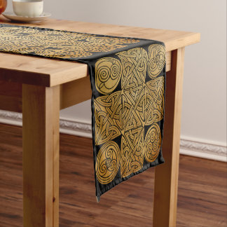 Celtic Knotwork Cross Short Table Runner