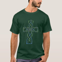 Celtic Knotwork Cross, T-Shirt, Apparel