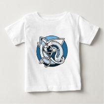 Celtic Knotwork Design - Blue Dog Baby T-Shirt