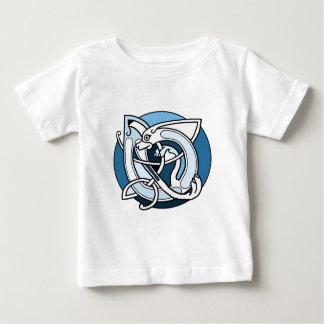 Celtic Knotwork Design - Blue Dog Shirt