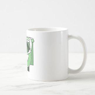 Celtic Knotwork Design - Green Rabbit Coffee Mug