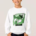 Celtic Knotwork Design - Green Rabbit Sweatshirt
