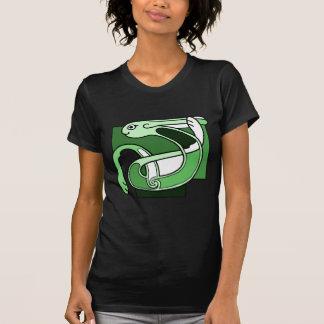 Celtic Knotwork Design - Green Rabbit T-Shirt