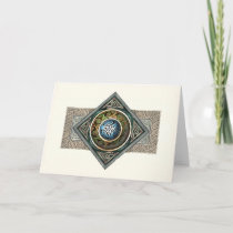 Celtic Knotwork Design Greeting Card