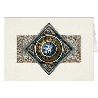 Celtic Knotwork Design Greeting Card