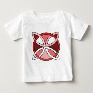 Celtic Knotwork Design - Interlacing Red Baby T-Shirt