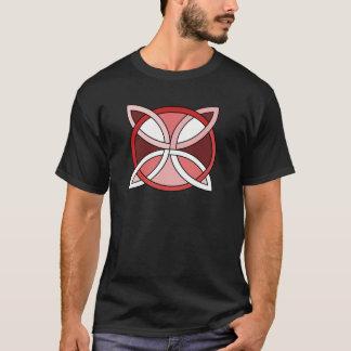 Celtic Knotwork Design - Interlacing Red T-Shirt