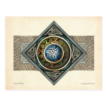 Celtic Knotwork Design Postcard