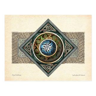 Celtic Knotwork Design Postcard