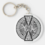 Celtic Knotwork Dragons Key Chains