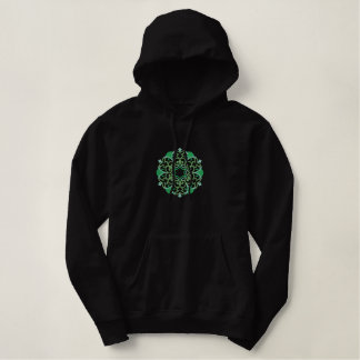 Celtic Knotwork Embroidered on Sweatshirt
