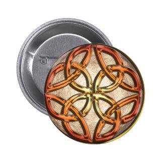 Celtic Knotwork Enamel Buttons