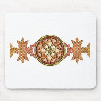 Celtic Knotwork Enamel Mouse Pad