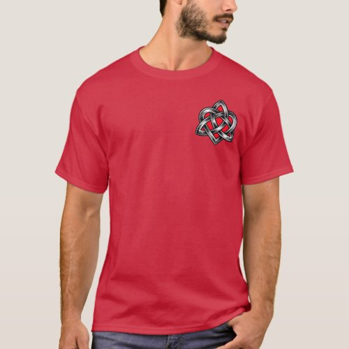 Celtic Knotwork Faithful Heart Shirt