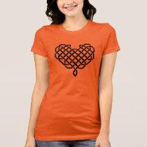 Celtic knotwork heart T-Shirt