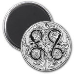 Celtic knotwork magnet