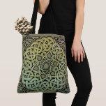 Celtic Knotwork Mandala Tote Bag
