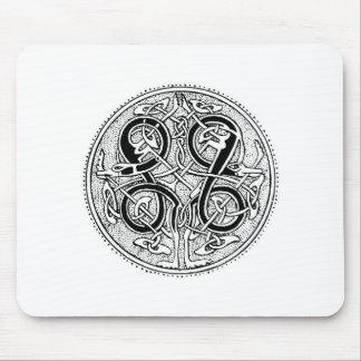 Celtic knotwork mouse pad