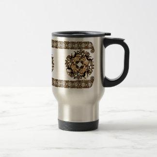Celtic Knotwork Mugs, Cat Design #2