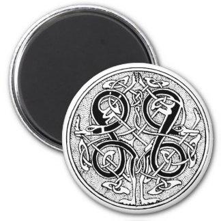Celtic knotwork on any color magnet